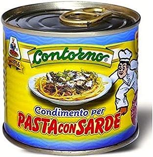 Condimento pronto per pasta con sarde siciliana 12 lattine da 240 gr. totali Kg.2,88