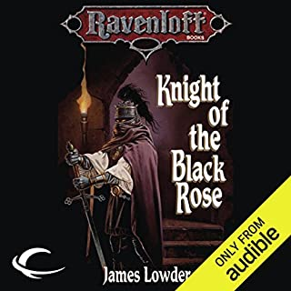 Knight of the Black Rose audiobook cover art