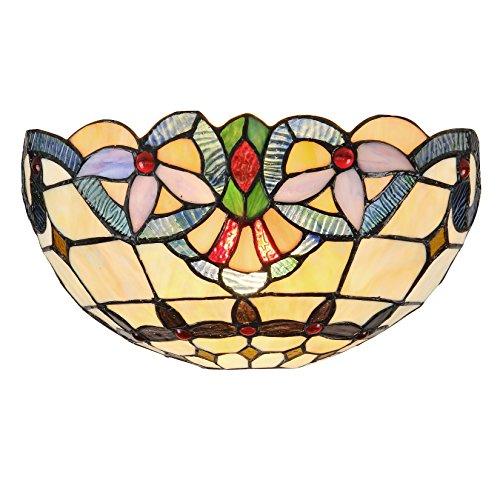 lámpara aplique tiffany fabricante CHLOE