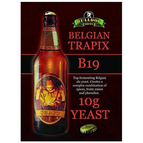 Bulldog B19 Belgische trapix Bier Hefe Handwerk Serie Bier Hefe 10g für 20-25l