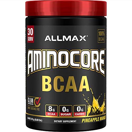 AllMax Nutrition Aminocore BCAA, Pineapple Mango, 410 g