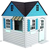 Product Image of the Lifetime Heavy Duty Plastic Outdoor Playhouse, 6ft x 6ft x 7 ft Tall, Beige &...