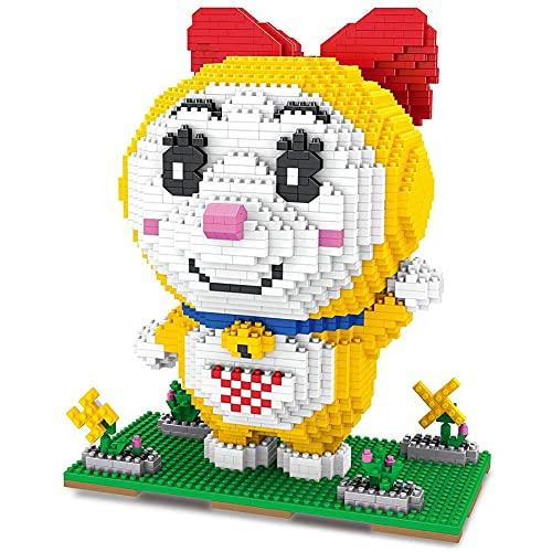 KGAYUC Bloques De Construcción De Muñecas Amarillas, Nano Micro Blocks 3D Puzzle DIY Juguetes Modelo Brick Toy, Nano-Mini Building Blocks DIY Toys, Adecuado para Niños (1920Pcs)