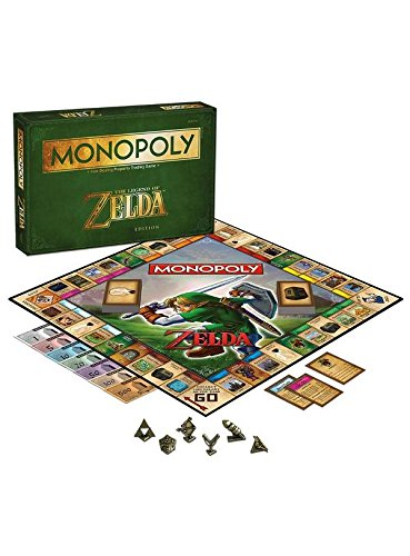 Monopoly The Legend of Zelda Brettspiel