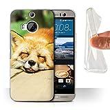 Hülle Für HTC One M9+/Plus Süß Baby Tier Fotos Roter