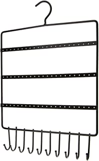MK124C - Blanc // 41,6 x 12,4 x 7,4 cm JackCubeDesign Suspendu Bijoux Organisateur Collier Hanger Bracelet Titulaire Collier de Montage Murale Organisateur avec 25 Crochets