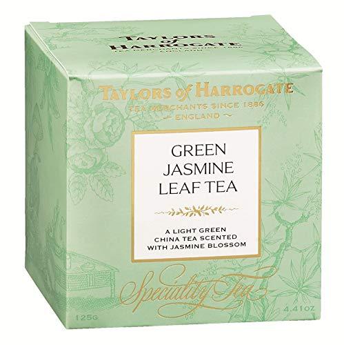 Taylors of Harrogate Green Tea with Jasmine Loose Leaf, 4.41 ounce Carton