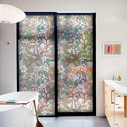 LJIEI Fensterfolie Opake Glastür Folie Schiebetür Kleiderschrank Schiebetür Fenster Papier Mattfolie Transparente Glasfolie