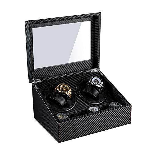 2020 Top Luxury Fashion Winder de Reloj Motor Abierto Stop Reloj automático...