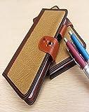 Geschäft Leder Notebook Reiselog Laptop Notebook