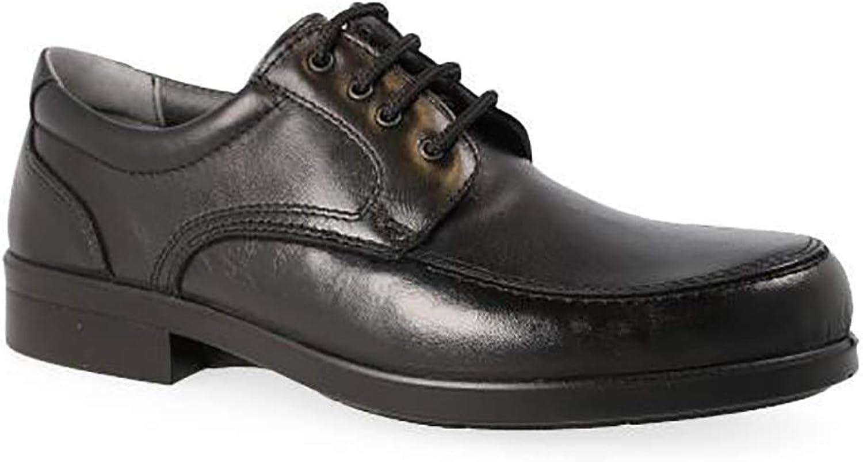 LUISETTI Men's 26581 65 black shoes
