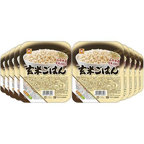 スマートマットライト 穀民生活 玄米ごはん 160g×10個