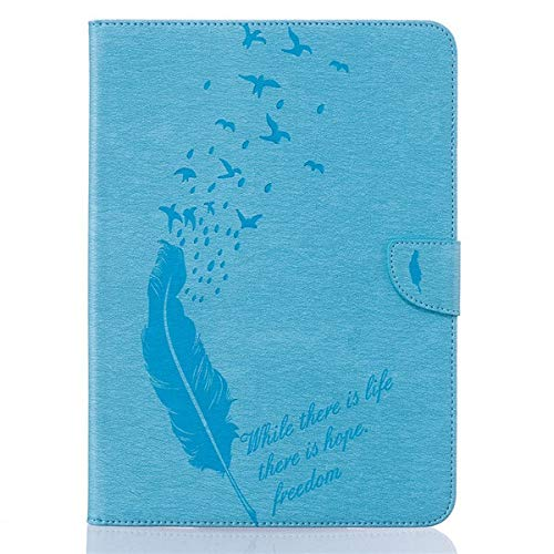 HHF Pad Accesorios para la lengüeta 9.7 S2, Libro del tirón del Cuero del Soporte + Funda de protección Retro Tableta Titular de la Tarjeta Monedero para Samsung Galaxy Tab 9.7 S2 SM-T810 T815