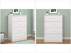 Mainstays 4-Drawer Dresser White
