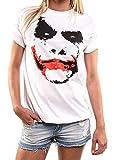 MAKAYA Top Estilo Oversize Manga Corta - Joker - Camiseta...