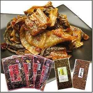 樽味屋・からし高菜 ごま200g×2袋 (メール便対応品)
