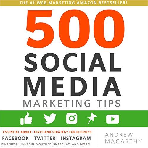 500 Social Media Marketing Tips cover art