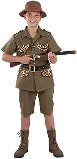 DISBACANAL Disfraz Explorador Safari niño - -, 12 años