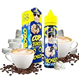 Cop Juice - Rosco - E-Liquid France | 50ML | Sin Nicotina: 0MG | 70VG/30PG | E-Liquido para Cigarrillos Electronicos | Vaper | E Cigarette | E Shisha