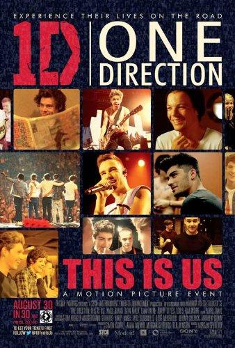 One Direction (2013) 11 x 17 Movie Poster Liam Payne, Harry Styles, Zayn Malik, A