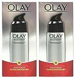 (PACK of 2) Olay Regenerist Regenerating LOTION with Broad Spectrum SPF 15 , 2.5 Fl Oz (75 ml) EACH - Advanced Anti-Aging Moisturize