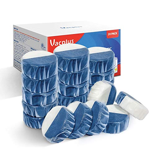 Vacplus Automatic Toilet Bowl Cleaner Tablets (20 Pack)