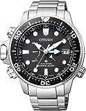 Citizen Orologio Analogico Eco-Drive Uomini con Cinturino in Acciaio Inox BN2031-85E