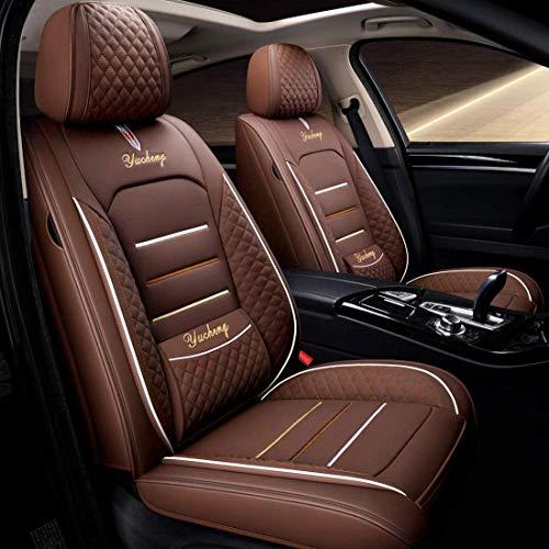 YSDS-JZ Coprisedile Universale Auto, Anteriore E Posteriore Set Completo per 5 Sedili Coprisedile Universale per BMW F10 F11 F15 F16 F20 F25 Gennaio 5 4 7 Serie GT X1 X3 X4,3
