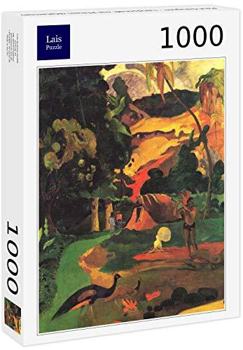 Lais Puzzle Paul Gauguin - Paesaggio con pavoni (Matamoe) 1000 Pezzi