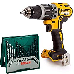 Brushless Motor Technology for excellent efficiency Ultra compact, lightweight design allows use in confined spaces Two speed all metal transmission for increased runtime and longer tool life Drill Driver and Hammer feature for multiple applications ...