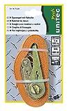 Unitec 75234 - Pulpo para baca de Coche con Hebilla de carraca, Color Naranja