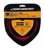 Jagwire Pro - Cables y fundas para adulto, unisex, rojo, talla única