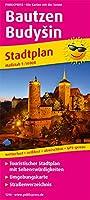 Bautzen BudySin 1:14 000: Touristischer Stadtplan mit Sehenswrdigkeiten und Straenverzeichnis