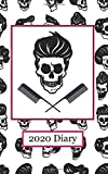 2020 Diary: Rockabilly Skulls'n'Combs - Plan Your Year! (5' x 8', 114 Pages)