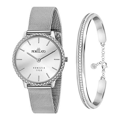 Morellato Special pack da donna, composto da orologio, Collezione 1930, e bracciale, Collezione Cerchi - R0153161507