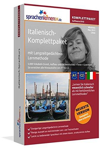 Italienisch Sprachkurs: Fließend Italienisch lernen. Lernsoftware-Komplettpaket: DVD-ROM für Windows/Linux/Mac OS X inkl. integrierter Sprachausgabe mit über 5700 Vokabeln und Redewendungen.