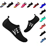 YALOX Women's Men's Water Shoes Outdoor Beach Swimming Aqua Socks Quick-Dry Barefoot Shoes for Surfing Yoga Exercise(YZ-H,44/45EU)