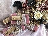 JABÓN ARTESANAL. Detalles para tus invitados. Regalos de boda. 10 unidades