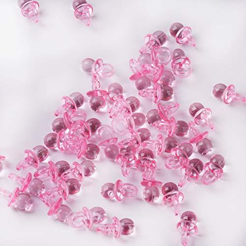 144 piezas Mini Chupete Confeti de dispersión de mesa para Baby Showe