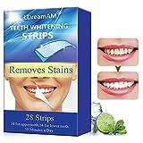 Blanqueamiento de Dientes, Tiras de Blanqueamiento Dental, Kit de Blanqueamiento Dental, Teeth Whitening Strips, blanqueador dientes,Reduce Sensibilidad Dental, Elimina Manchas Dentales 28PCS