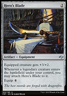 Magic: the Gathering Hero39;s Blade (160/185) - Fate Reforged