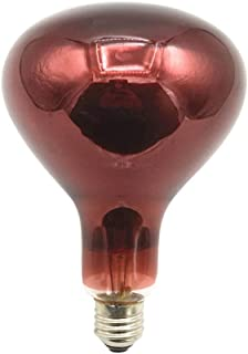 DYW Bombilla 220V Infrarrojos Fisioterapia luz E27 Hornear de lámpara de 150W 250W 275W del hogar Calefacción (tamaño : 250W)