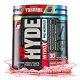 ProSupps® Mr. Hyde® NitroX Pre-Workout Powder Energy Drink - Intense Sustained Energy, Pumps & Focus with Beta Alanine, Creatine & Nitrosigine, (30 Servings, Cherry Popsicle)