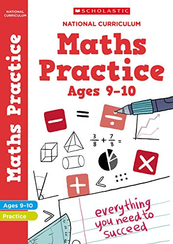 Maths practice book for ages 9-10 (Year 5). Perfect for Home Learning. (100...