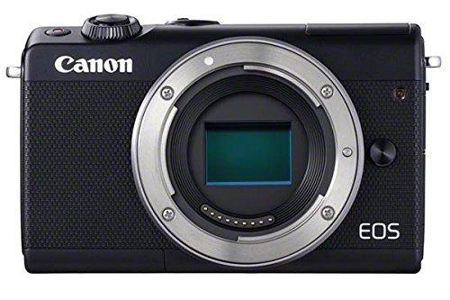 Canon EOS M100 - Solo corpo, colore: Nero - Versione UK