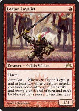 Magic The Gathering - Legion Loyalist (97) - Gatecrash - Foil