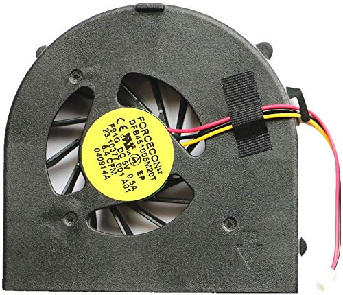 3CTOP - Ventilador de CPU de Repuesto para DELL Inspiron 15R N5010 M5010