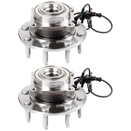 SCITOO Both (2) 515098 Front Wheel Hub Bearing Assembly fit 2007-2009 for Chevrolet Silverado 2500 for Chevrolet Suburban 2500 for GMC Sierra 3500 HD for GMC Yukon XL 2500 Wheel Bearing 8 Lugs w/ABS