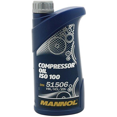 MANNOL Compressor Oil ISO 100 Industrieöl Kompressor 1L MN2902-1
