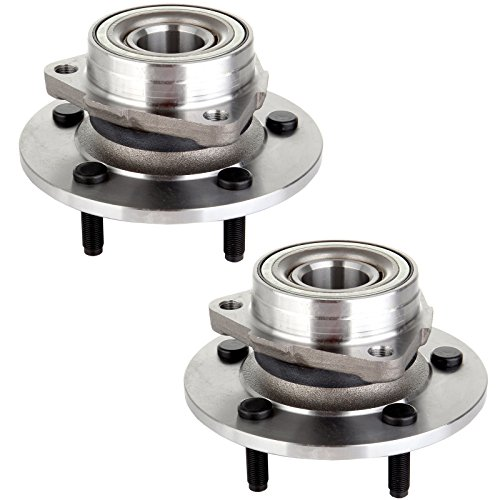 ECCPP Replacement New Front Wheel Hub Bearing for 2000 2001 Dodge Ram 1500 4WD 4X4 515038 2 PCS
